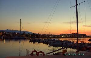 Hamnen i Rethymno, Kreta