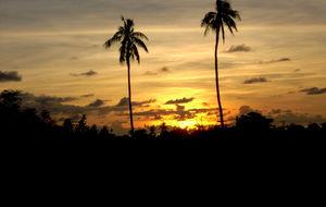 Solnedgang, Samoa