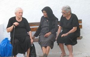 Grekiska damer i Kritsa