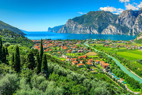 Ferie ved den italienske Gardasjøen