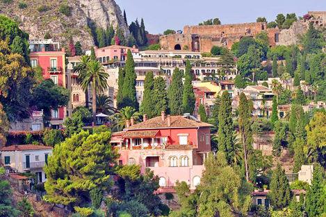 Slående vakre Sicilia