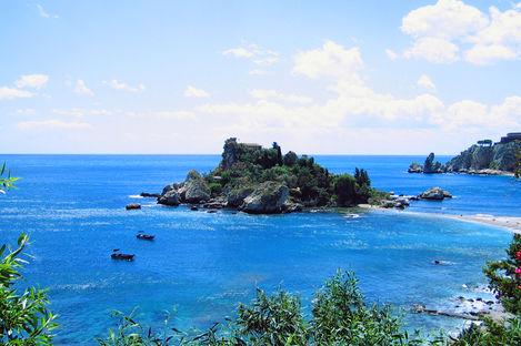Øyferie i Italia