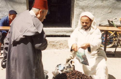 Dadelhandel i Tanger
