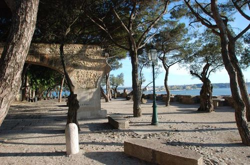 Borggården Castelo São Jorge