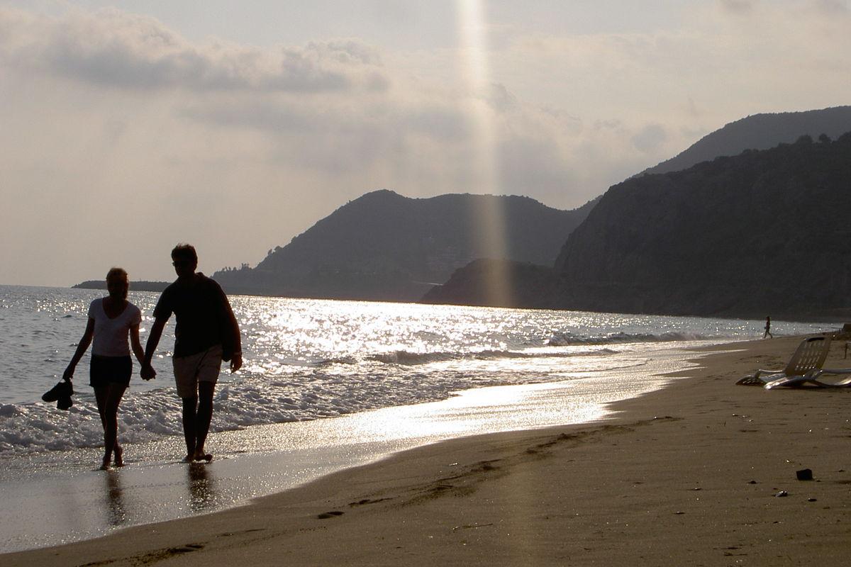 Stranden i Alanya