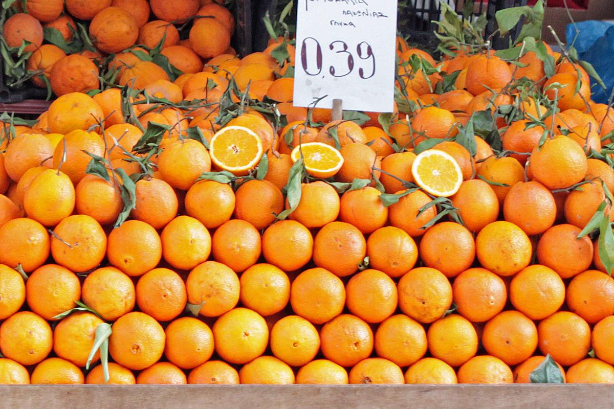 Apelsinförsäljning