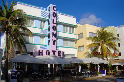 Colony Hotel, Ocean Drive
