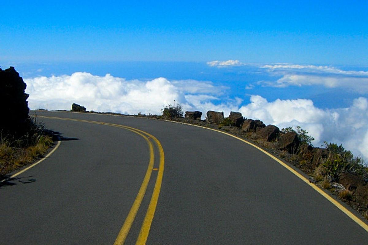 Vägen ovanför molnen!