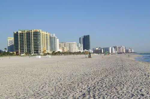 Miami Beach tidigt på morgonen