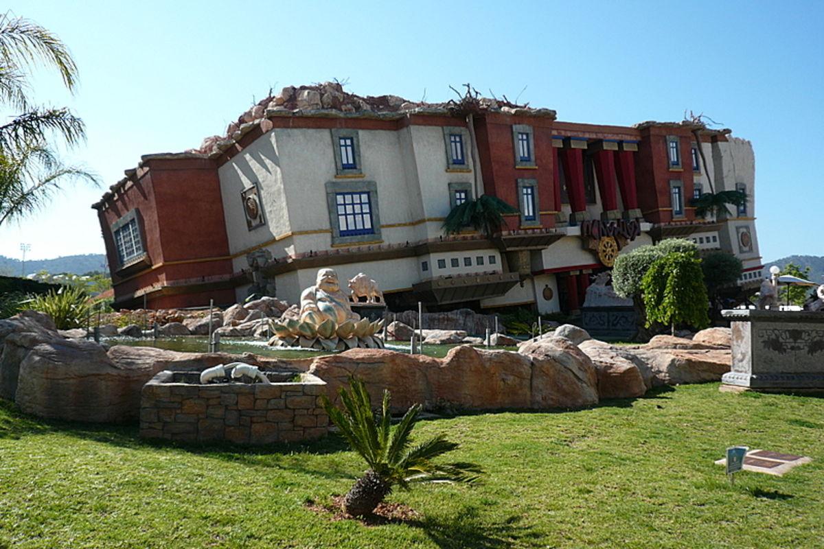 Katmandu Huset upp och ner