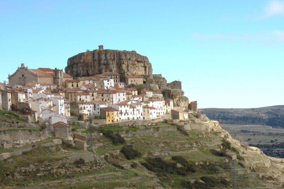 Lilla byn på berget.