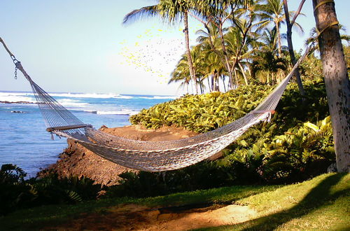 Avkoppling på Waikuloa Resort, Big Island, Hawaii