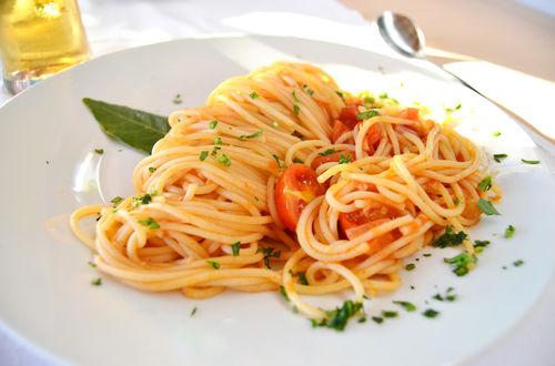 Spagetti Napoli, maträtt som förr åts av fattiga