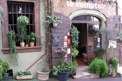 Liten krog vid Rue de la Tourraque