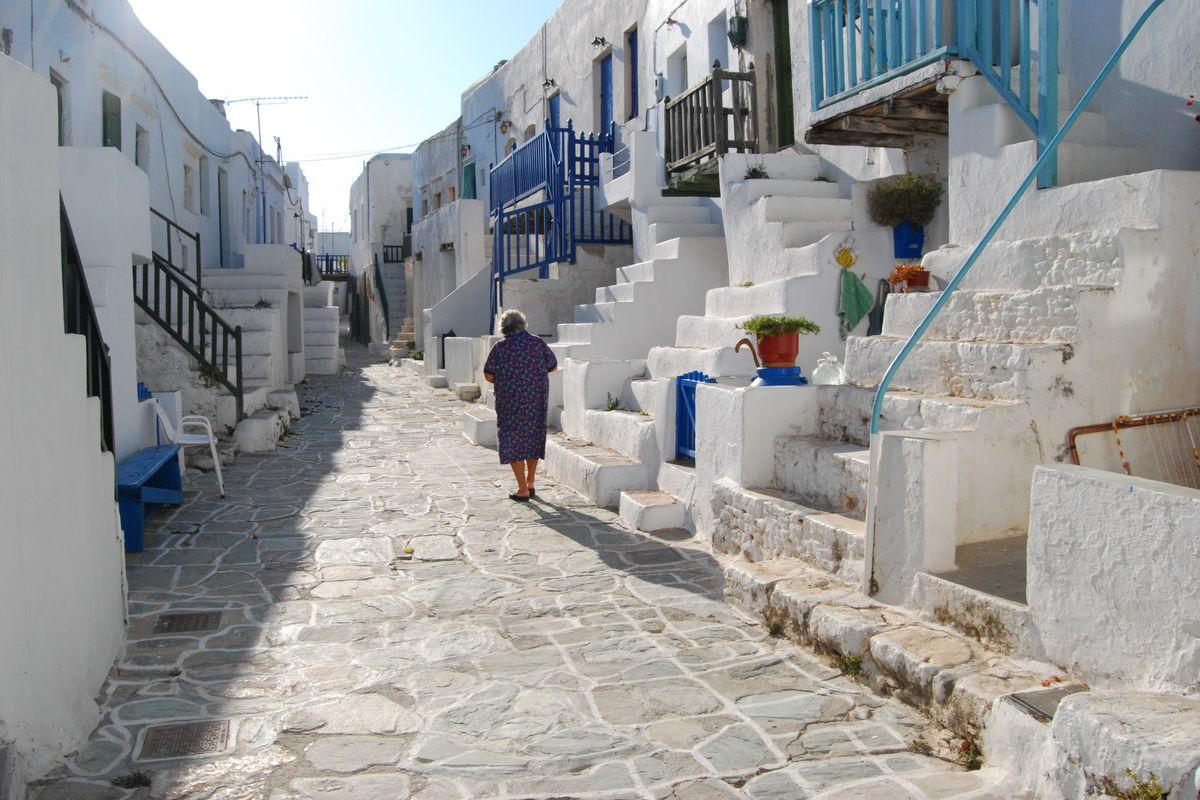 Huvudgatan i Kastro