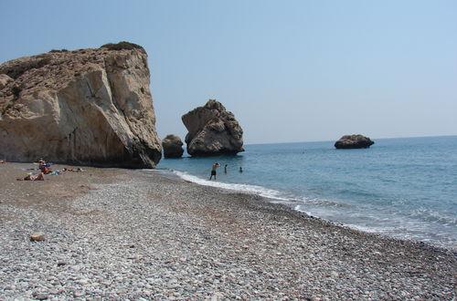 Afrodites födelseplats Petra tou Romioú (grekens s