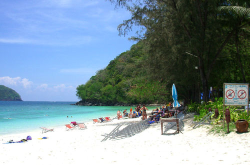Stranden Coral Island