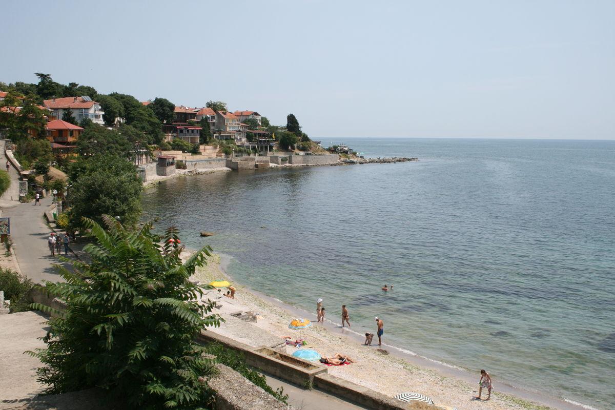Stranden i Nessebar