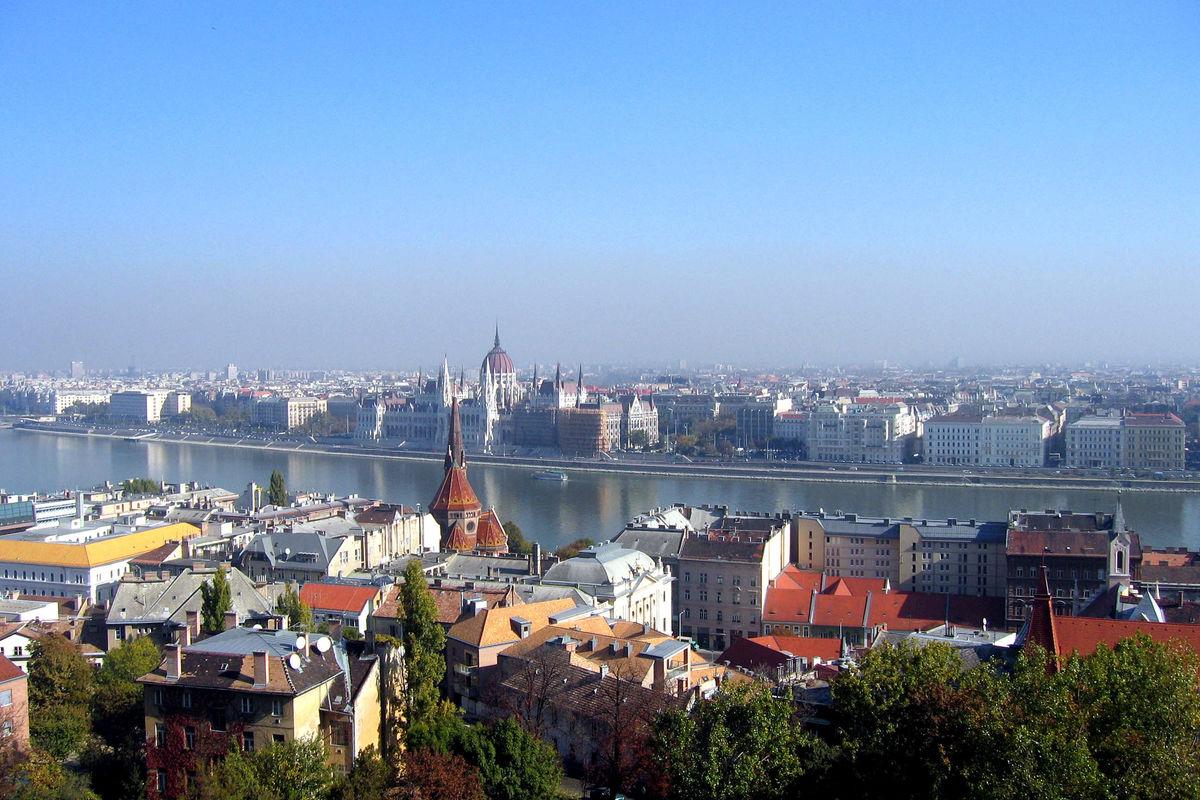 Utsikt över Budapest