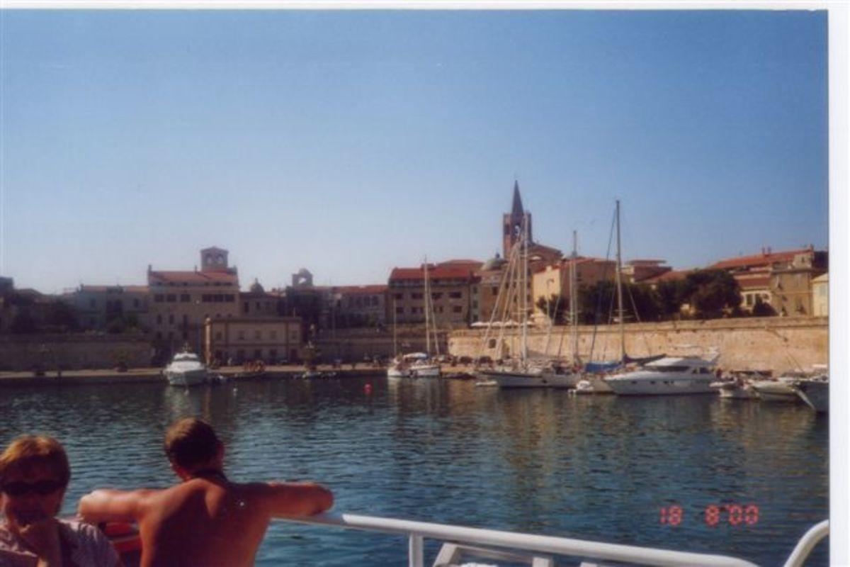 Hamnen i Alghero