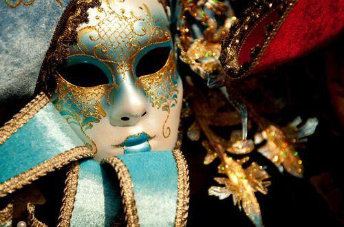 Venetiansk karnevalsmask