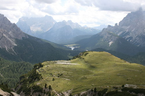 På vandring runt Drei Zinnen (2400 möh)
