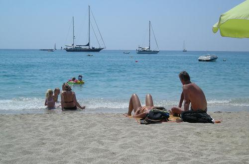 Valtos stranden i Parga