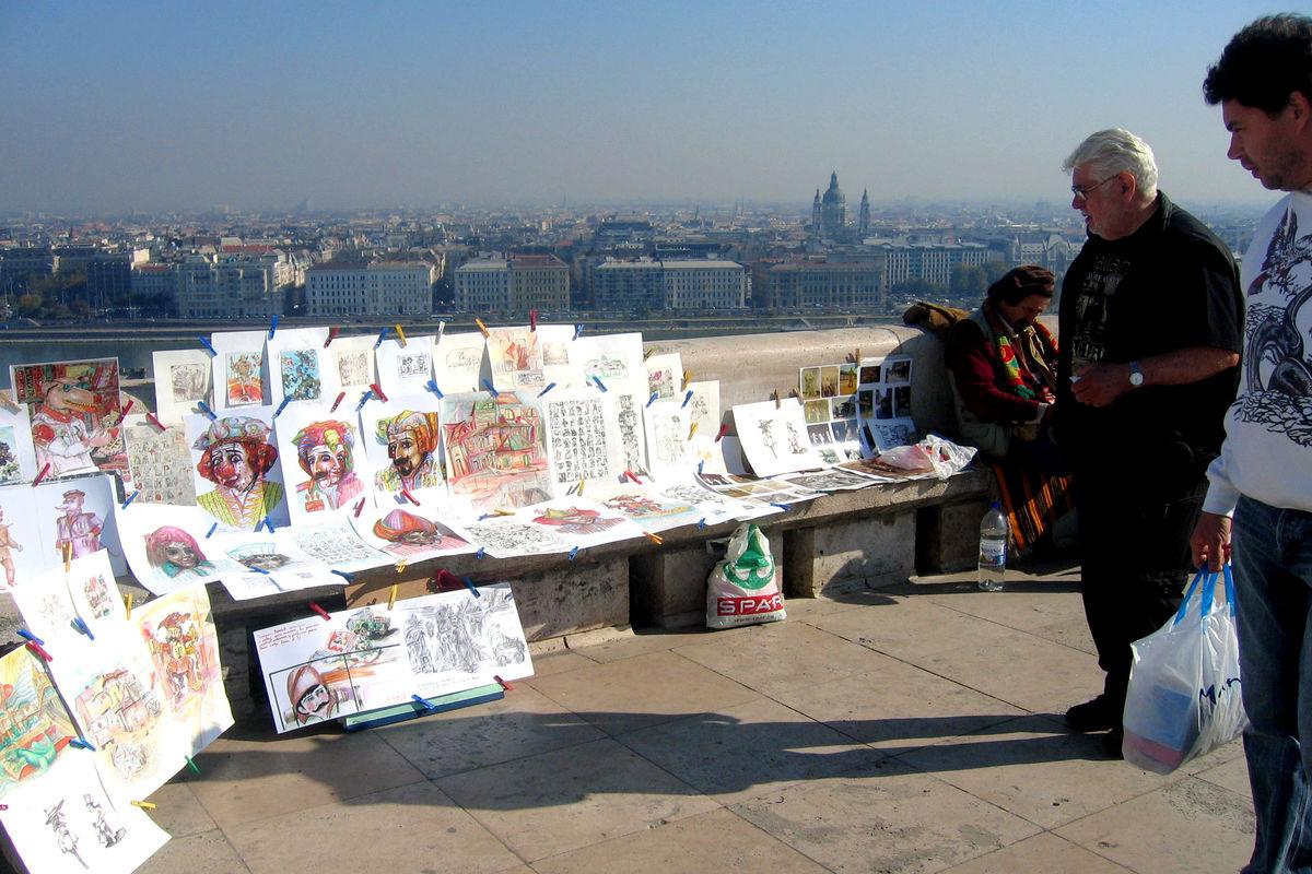Karikatyrmålare