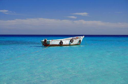 Bad och snorkelutflykt