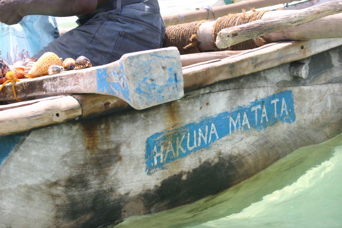 Båt Zanzibar