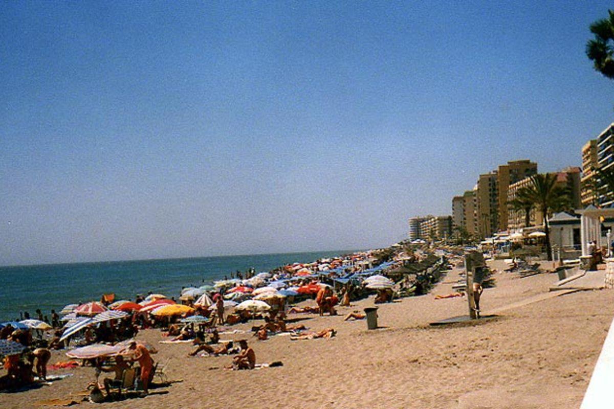Stranden i Fuengirola