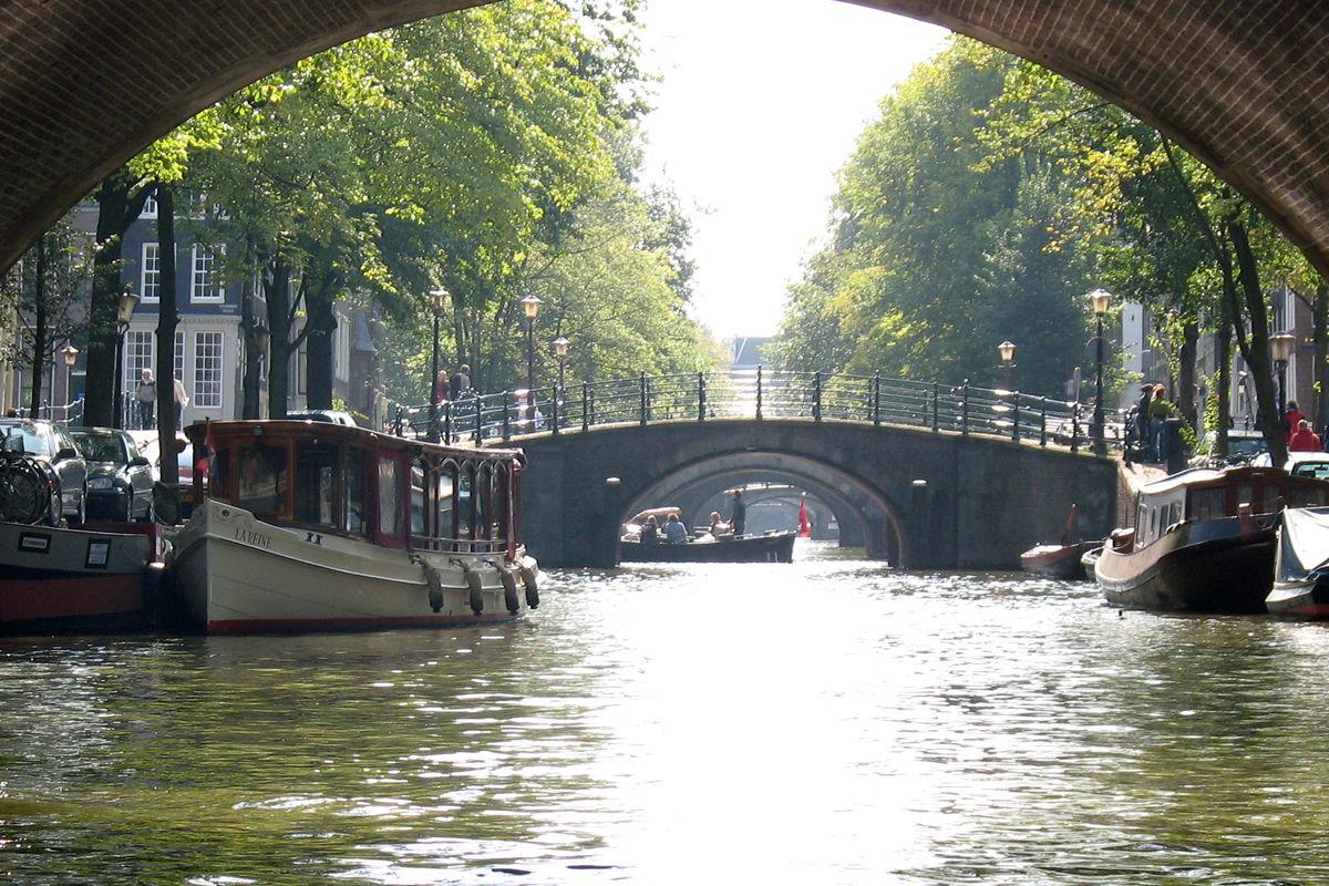 Vacker kanaltur