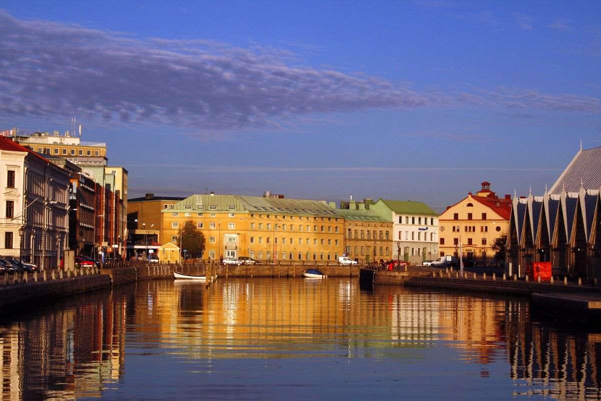 En stad i vatten