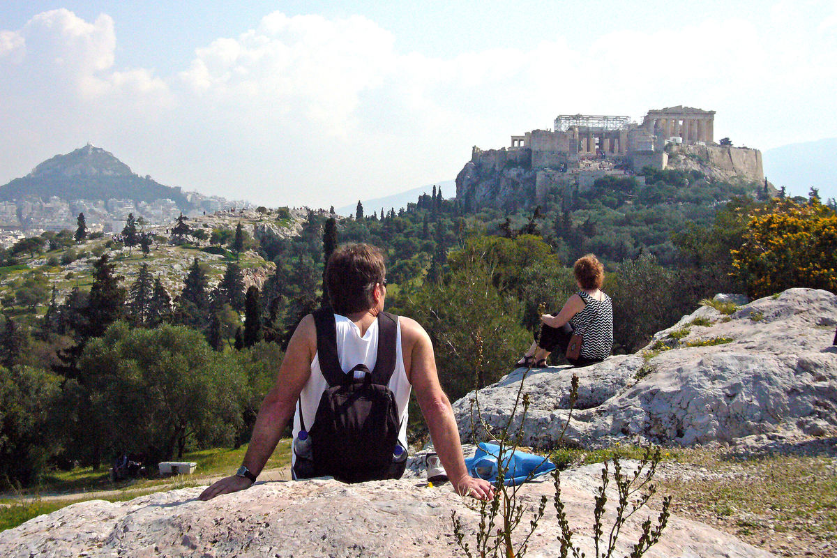 Utsikt över Aten