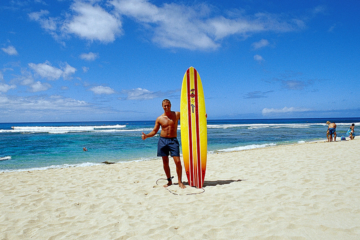 Surfing Hawaii/Oahu/North Shore