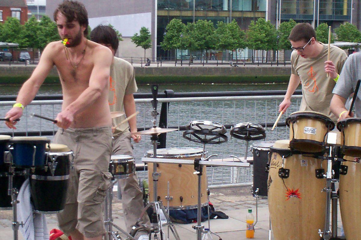 Flitiga trummare